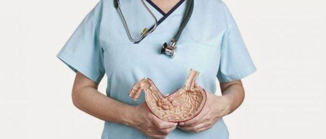 Состояние после резекции желудка