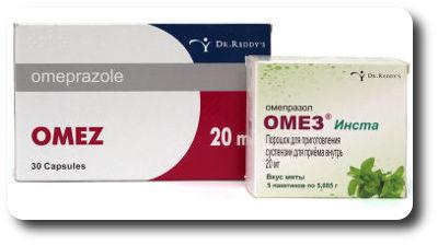 Как принимать Омез при гастрите, лечение таблетками и препаратами