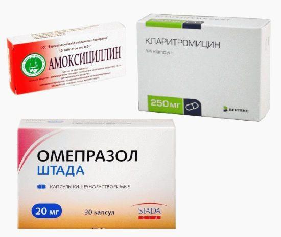 Как вылечить хеликобактер пилори антибиотиками - препараты для лечения бактерии