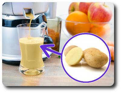 Картофельный сок при гастрите - лечение, как принимать, польза и вред