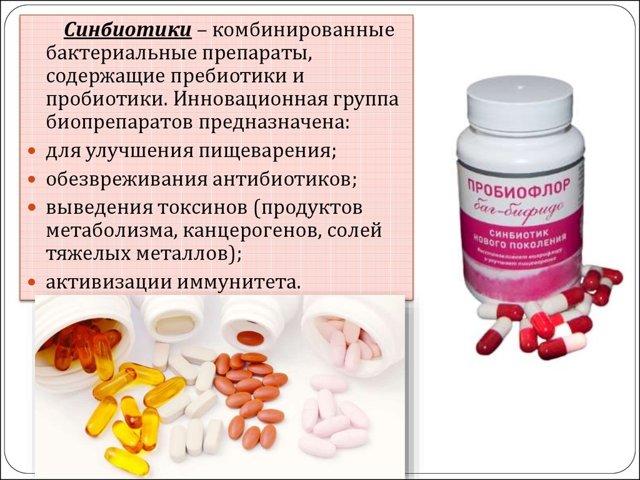 Синбиотики и симбиотики - список препаратов